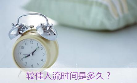 杭州人流时间多少天合适